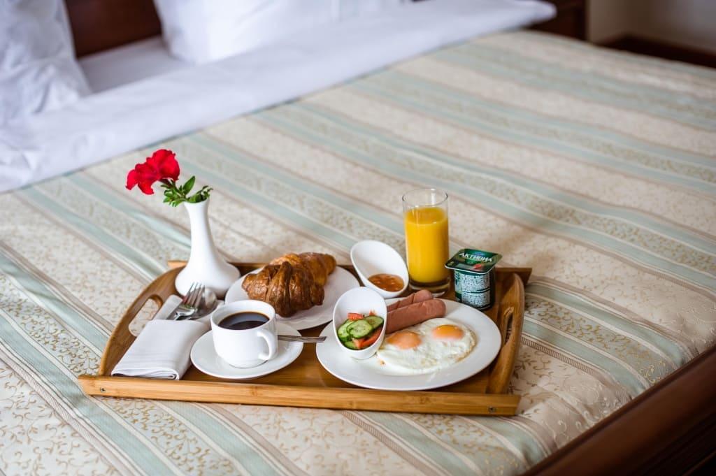 Завтрак включен